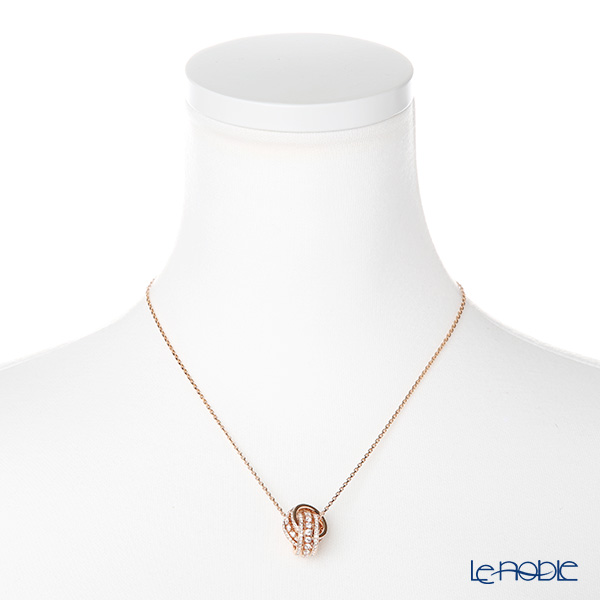 Swarovski 'Further / White' Rose Gold SW5419853 [2018] Pendant 51.5cm