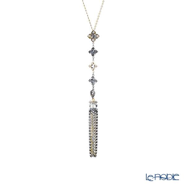 Swarovski 'Millennium / White & Gray & White Pearl' Gold SW5426586 [2018] Long Pendant 82cm