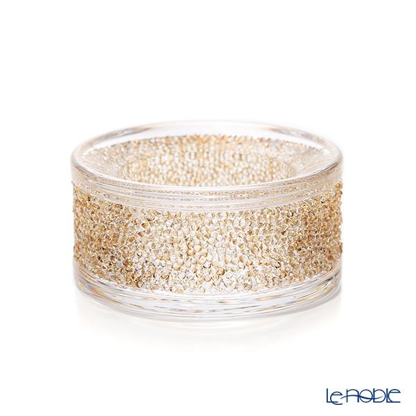 スワロフスキー Shimmer ティーライトキャンドルホルダー(ゴールド) SWV5-428-724 20AW
