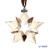 Swarovski Christmas Ornament (Gold) SWV5-429-596 19AW (LIMITED PRODUCTS FOR FY2019)
