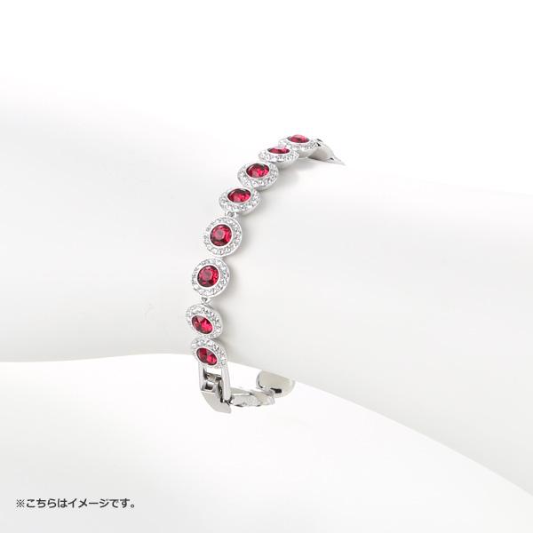 Swarovski 'Angelic / Red' Rhodium SW5446006 [2018] Bracelet 18.5cm