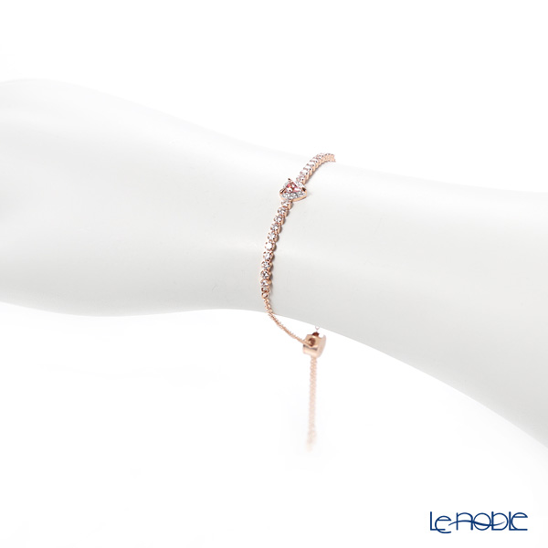 Swarovski 'One - Heart / Pink & White' Rose Gold SW5446299 [2019] Bracelet 24cm