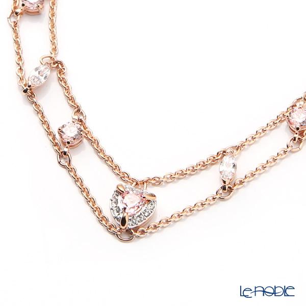 Swarovski 'One - Heart / Pink & White' Rose Gold SW5446304 [2019] Bracelet 27cm