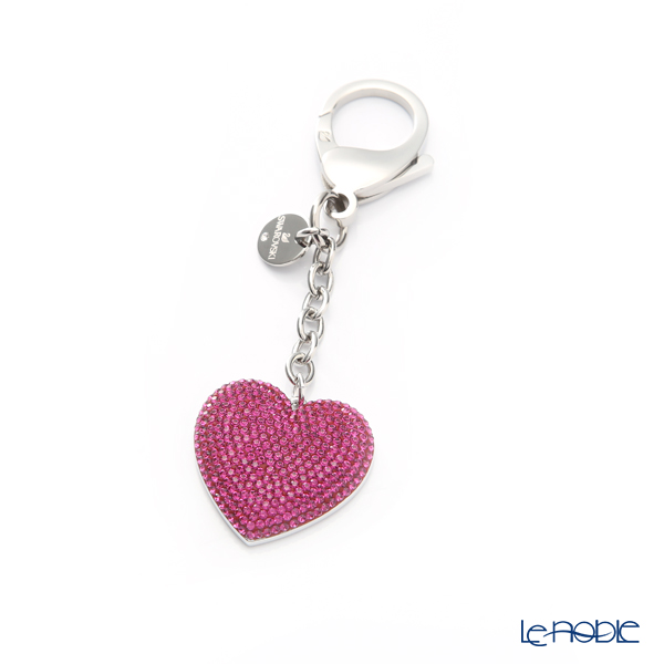 Swarovski 'Lovely / Pink' Stainless Steel SW5458417 [2019] Bag Charm