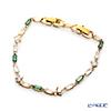 Swarovski 'Oz / White & Green' Gold SW5459392 [2019] Bracelet 19cm
