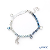 Swarovski 'Ocean View' Blue / Rhodium SW5459962 [2019] Bracelet 20cm