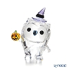 Swarovski 'Hoot - Happy Halloween (Owl, Bird, Sorcerer's Hat & Pumpkin)' SWV5464862 [Annual Edition 2019] Figurine H5cm