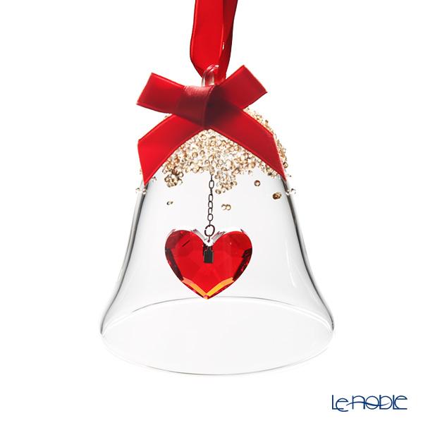 スワロフスキー クリスマスベル オーナメント ハート SWV5-464-881 19AW