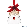 Swarovski 'Christmas Bell - Red Drop' Golden Shadow SWV5464882 [2019] Ornament H7cm (S)