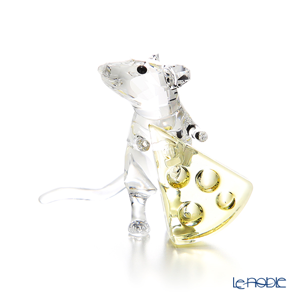 スワロフスキー マウスとチーズSWV5-464-939 19AW