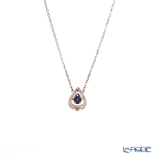 Swarovski Necklace Sparkling Dance pair (blue/rose gold) SW5465281 19SS