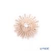 Swarovski 'Sunshine / White' Rose Gold SW5465415 [2019] Brooch 4cm