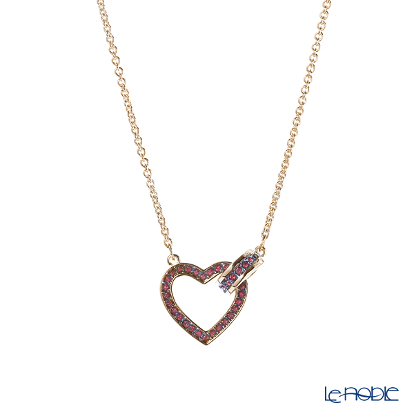 Swarovski 'Lovely (Heart) / Red' Gold SW5465683 [2019] Necklace 45cm
