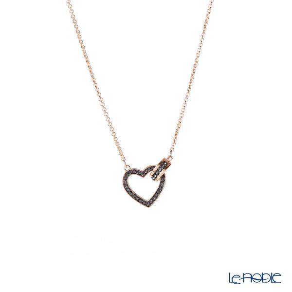 Swarovski Necklace Lovely (dark gray/rose gold) SW5465686 19SS