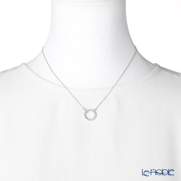 Swarovski 'Only - Round / White' Rhodium SW5465802 [2019] Necklace 42cm