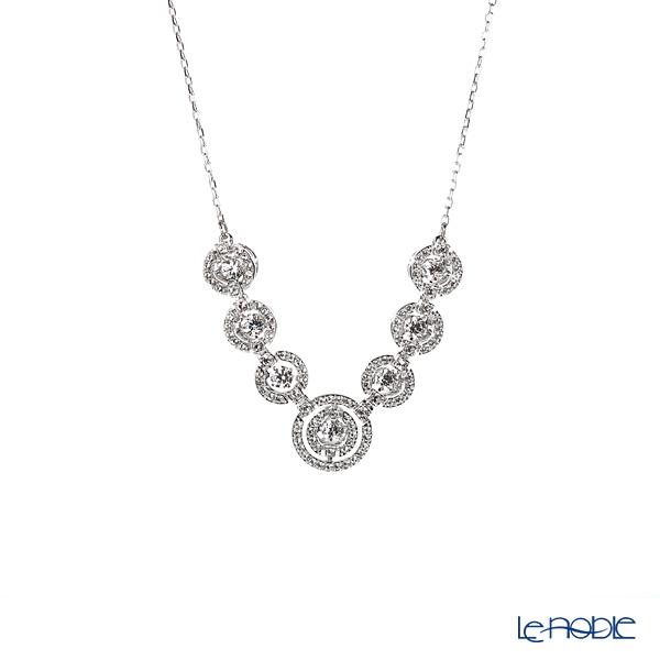 Swarovski 'Sparkling Dance - Round / White' Rhodium SW5467787 [2019] Necklace 44cm