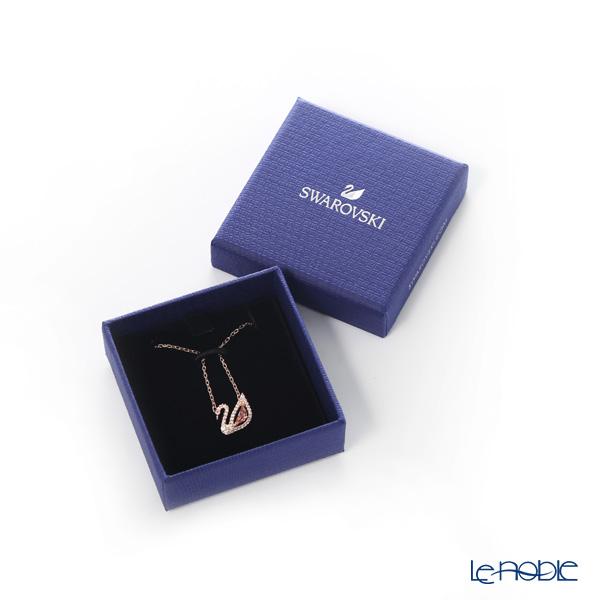 Swarovski 'Dazzling Swan / Pink & White' Rose Gold SW5469989 [2019] Necklace 43.5cm