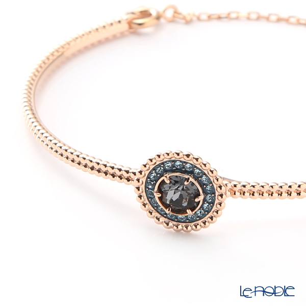 Swarovski 'Oxygen / Gray & Blue' Rose Gold SW5470970 [2019] Bangle