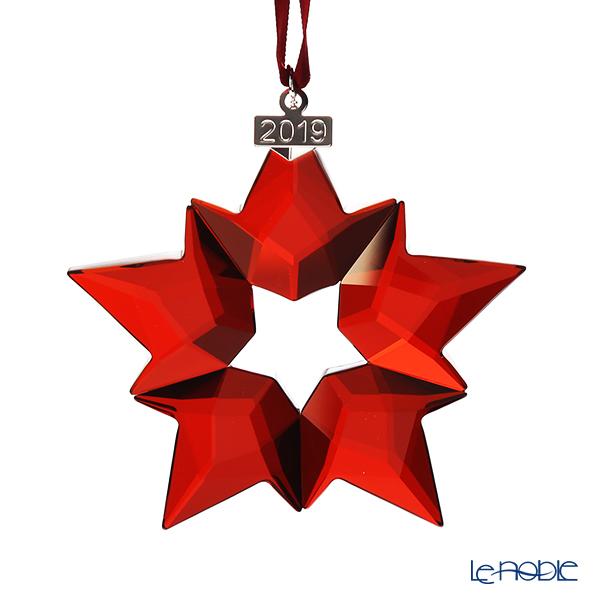 スワロフスキー クリスマスオーナメント レッド SWV5-476-021 19AW(2019年度限定生産品)