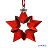 Swarovski  'Christmas - Red Star' SWV5476021 [Annual Edition 2019] Ornament 7.5cm (L)