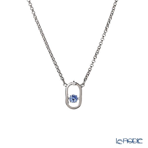Swarovski North Necklace, blue, rhodium plating SW5479118 19SS