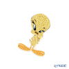Swarovski 'Warner Bros - Looney Tunes Tweety (Bird) / Yellow' Gold SW5487641 Tie Pin