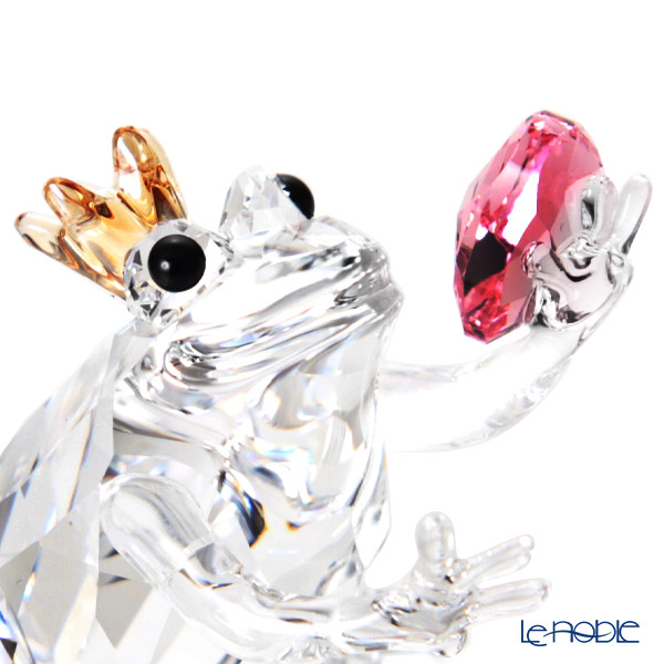 Swarovski 'The Prince of Frogs' SWV5492224 Animal Figurine H3.5cm