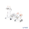 Swarovski 'Replica Limited Edition' Shimmer SWV5492741 Animal Figurine (set of 3 animals with stand)