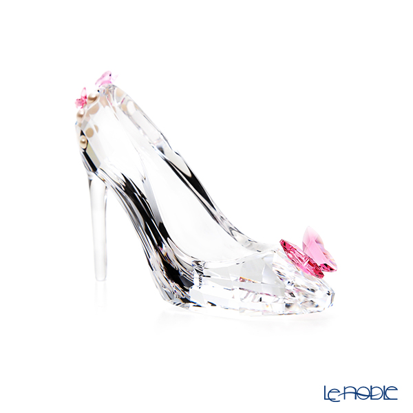 Swarovski 'Shoe with Butterfly (Pink)' SWV5493714 Decoration Object H6cm