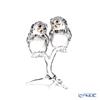 スワロフスキー フクロウ(2羽セット)SWV5-493-722 20SS