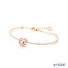 Swarovski 'Sparkling Dance - Round / White' Rose Gold SW5497483 Bangle
