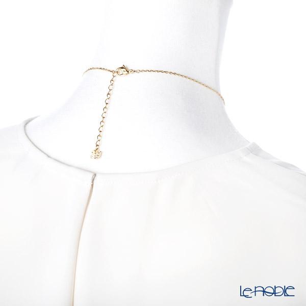 Swarovski 'Nice (Feather) / White' Gold SW5505740 Necklace 43.5cm