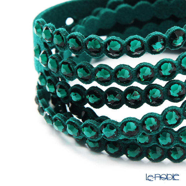 Swarovski 'Slake - Power' Green SW5511700 Bracelet 41cm