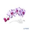 Swarovski 'Orchid (Flower)' Purple SWV5520373 Flower Object H10.5cm