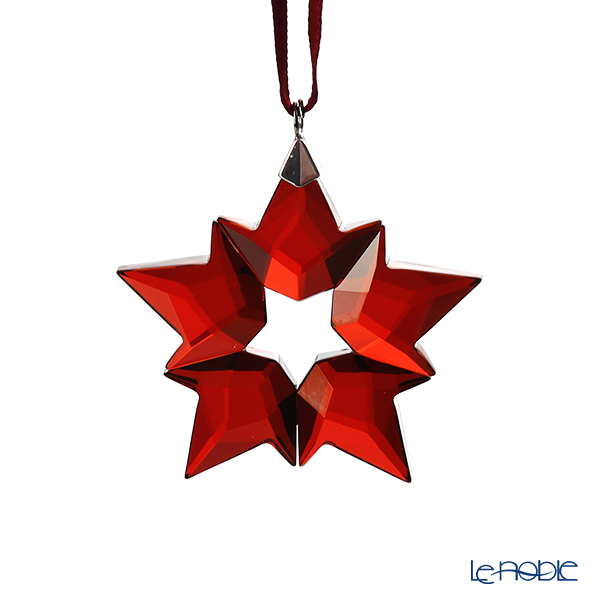 Swarovski 'Christmas - Red Little Star' SWV5524180 [Annual Edition 2019] Ornament 4.5cm (S)