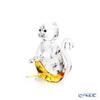 Swarovski 'Monkey with Banana' SWV5524239 Animal Figurine H5.5cm