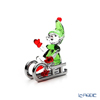 Swarovski 'Christmas - Santa's Elf on Sleigh' SWV5533947 Figurine H6cm