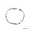 Swarovski 'Tennis Deluxe / Blue & White' Rhodium SW5536469 Bracelet