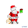 Swarovski 'Christmas - Santa Claus with Gift Bag' SWV5539365 Figurine H7.5cm