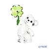 Swarovski 'Kris Bear - Lucky Farm (Four-leafed Clover)' SWV5557537 Figurine H8.5cm