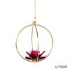 Swarovski 'Garden Tales - Rose' Red SWV5557805 Flower Ball Ornament 8.5cm (L)