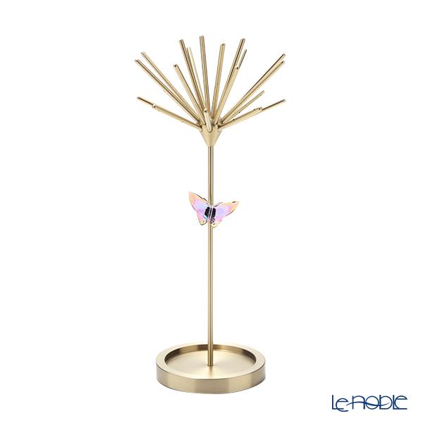Swarovski 'Jungle Beats - Andki' Gold SWV5557815 Jewelry Holder H21cm with Butterfly Ornament