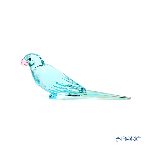 スワロフスキー Jungle Beats ブルーのインコ Paco SWV5-574-519 21SS