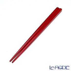 若狭塗箸(兵左衛門) うるし 堆朱/赤(中) 20.5cm B-910