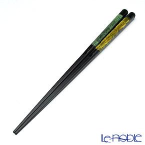 若狭塗箸(兵左衛門) 和紙巻き 蜃気楼(大) 23.5cm N-131