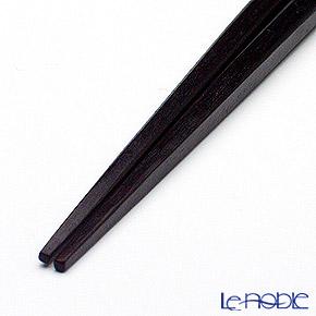 若狭塗箸(兵左衛門) 和紙巻き 蜃気楼(中)20.5cm N-132