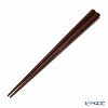 Wakasa Lacquerware / Hyozaemon 'Gokakusui (Pentagon)' Rosewood  TD-0031 Chopsticks 23cm