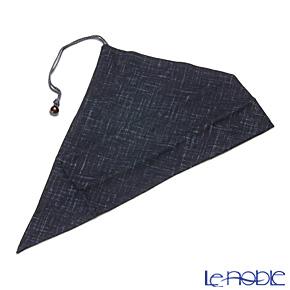 マイ箸袋染文様 紺