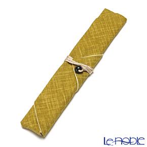 マイ箸袋染文様 黄