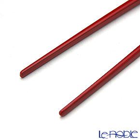若狭塗箸 古代箸 朱24cm M-20003